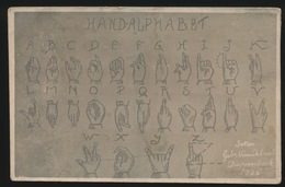 HAND ALPHABET - Andere