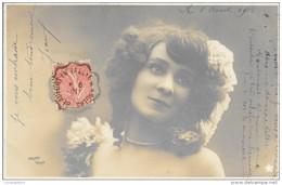 CACHET FERROVIAIRE  -  BEAUFORT EN VALLEE A ANGERS  N° 209 T II RETOUR  6.08 1910 - Railway Post