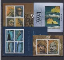 MICRONESIA 4 SHEETS WW1 FIRST WORLD WAR PREMIERE GUERRE MONDIALE - WW1