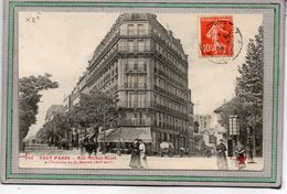 CPA - PARIS (75)(XII°) - Aspect Du Carrefour Rue Michel-Bizot Et De L'avenue De St-Mandé En 1909 - Paris (12)