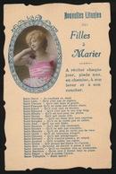 NOUVELLES LITANIES DES  FILLES A MARIER - Fantasie