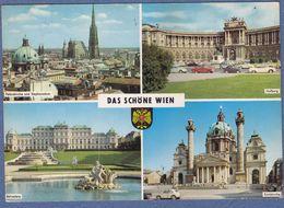 VW Karmann Ghia - Fiat 600 - Opel - VW Beetle Bug - Old Cars - Wien - Turismo