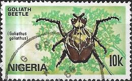 NIGERIA 1986 Nigerian Insects - 10k Goliathus Goliathus (beetle) FU - Nigeria (1961-...)