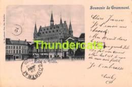 CPA GERAARDSBERGEN 1900 SOUVENIR DE GRAMMONT HOTEL DE VILLE - Geraardsbergen