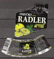 Label - Radler Black Beer (Osijek), 2019., Croatia, Used - Beer