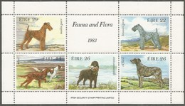 Ierland Irlande Ireland 1983 Yvertnr. Bloc 4 *** MNH Cote 11.00 Euro Faune Chiens Dogs Honden - Blocs-feuillets