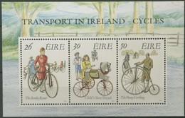 Ierland Irlande Ireland 1991 Yvertnr. Bloc 8 *** MNH Cote 6,50 Euro  Bicyclettes Fietsen Bicycles - Blocs-feuillets
