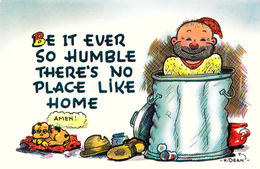 Comics Humor Comic Comique Humour - No Place Like Home ! - 2 Scans - Humour