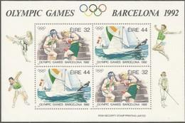Ierland Irlande Ireland 1992 Yvertnr. Bloc 11 *** MNH Cote 8,00 Euro  Sport Jeux Olympiques Barcelone - Blocs-feuillets
