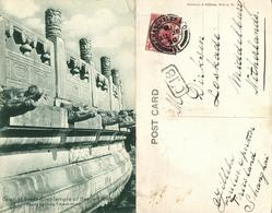 China, PEKING PEIPING, Detail Of Great Alter Temple Of Heaven (1920) Postcard - China