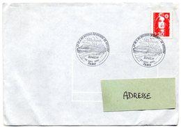 PARIS 1990 = CACHET GRAND FORMAT Illustré  = TGV / RECORD Du MONDE De VITESSE SNCF - Marcophilie (Lettres)