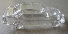 Mercedes Benz En Verre (Presse Papier) - Voitures, Camions, Bus