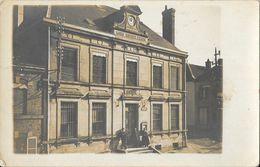 Mairie, Commune à Identifier - En Italie? En France? Au Fronton: Anno MDCCCLXXXVII (1887) - Plaque: Place Jean... (?) - Da Identificare