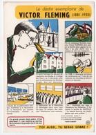 - BUVARD VICTOR FLEMING - Édité Par Le Haut Comité D'Étude Et D'Information Sur L'Alcoolisme SANTÉ SOBRIÉTÉ N° 4 - - Buvards, Protège-cahiers Illustrés