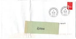 PARIS 1990 = CACHET PETIT FORMAT Non Illustré  = Sce / SERVICE PHILATELIQUE De La POSTE - Marcophilie (Lettres)