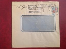 Saint Etienne Gare Grange Métaux - Marcophilie (Lettres)