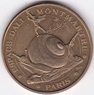 Médaille Souvenir Ou Touristique > Paris Montmartre Espace Dali  > Dia. 34 Mm - Monnaie De Paris