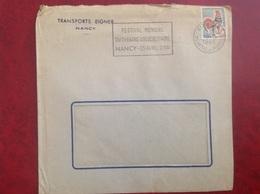 Nancy Transports Eigner - Marcophilie (Lettres)