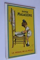 Publicite Reproduction D Affiche  10941 Savon Malaceine Redon  CPM Edit CLOUET - Publicité