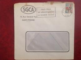 Saint Etienne SGCA - Marcophilie (Lettres)