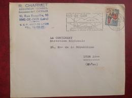 Rive De Gier Charmet - Marcophilie (Lettres)