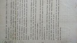 NOTAIRE Me JOBA A COMMERCY MEUSE- ACTE 1836 - DORDELU LIOUVILLE SIMON A SORCY VILLE-ISSEY - Documents Historiques