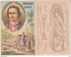 CHROMOS. Chocolat LOUIT (Bordeaux).  Christophe Colombe ...T040 - Louit
