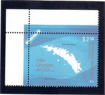 B2 - ARGENTINE De 2012** MNH - Île San Pedro Explorée Par James COOK  En1775. - Argentine