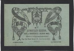 CPA Maçonnique Circulé Masonic Franc Maçonnerie Franc Maçon Publicité Paris Non Circulé - Philosophie & Pensées