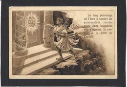 CPA Maçonnique Circulé Masonic Franc Maçonnerie Franc Maçon Non Circulé Loge De Colmar - Filosofia & Pensatori