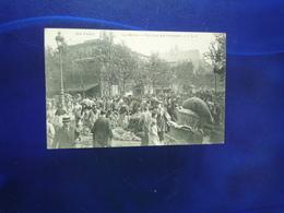PARIS 1907 LES HALLES PAVILLON DES PRIMEURS BON ETAT - Francia