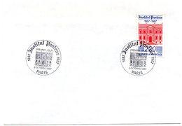 PARIS 1987 = CACHET PREMIER JOUR Illustré + N° 2496 = CENTENAIRE DE L'INSTITUT PASTEUR - Louis Pasteur