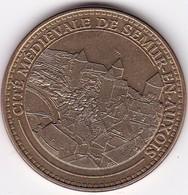 """Médaille Souvenir Ou Touristique >SEMUR EN AUXOIS  """"La Cité Médiévale""""  > Dia. 34 Mm - Monnaie De Paris"""
