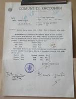 MONDOSORPRESA, (MT2) ANNO 1944, RECLUTE DELLE CLASSI 1923-1924-1925 CHIAMATA ALLE ARMI, RACCONIGI - Documents