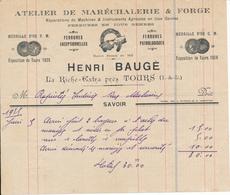 LA RICHE, Indre Et Loire - Atelier De Maréchalerie & Forge Henri Baugé - France
