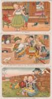 Bu - Lot De 3 Cpa Illustrées - Mère Michel, Bretons, Lit Clos (édit Nozais, Nantes) - Illustrateurs & Photographes