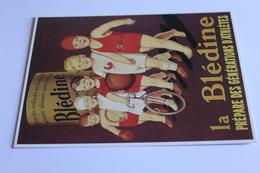 Publicite Reproduction D Affiche  10656 La Bledine Henry Lemonnier 1930   CPM Edit CLOUET - Publicité