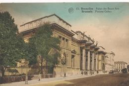 CPA - Belgique - Brussels - Bruxelles - Palais Des Beaux-Arts - Musées