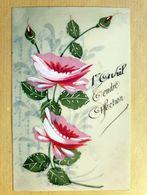 CPA - CELLULOÏD - Celluloïde - Cellulo - Peinte à La Main - Fancy Cards