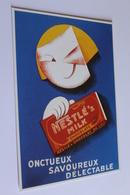 Publicite Reproduction D Affiche  10647 Nestle Milk Vers 1930   CPM Edit CLOUET - Publicité