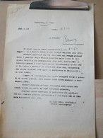 MONDOSORPRESA, (MT2) ANNO 1944, RICHIESTA DI CHIEDERE AI GENITORI PER I FIGLI  NON PRESENTATI ALLE ARMI, CUNEO - Documents