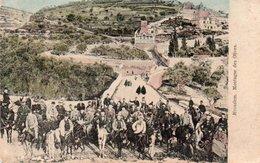 96Cc  Israel Jerusalem Montagne Des Olives (pas Courante Colorisée) - Israel