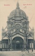 CPA - Belgique - Brussels - Bruxelles - Eglise Ste-Marie - Monuments, édifices