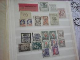 Local Stamps From Spani, Asistencia Social, Pro Infancia - Vignetten Van De Burgeroorlog
