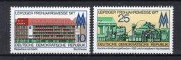 DDR Yt. 1884/1885 MNH** 1977 - [6] Repubblica Democratica