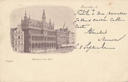 CPA - Belgique - Brussels - Bruxelles - Maison Du Roi - Monuments, édifices