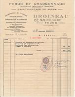 TOURS, Indre Et Loire - Forge Et Charronage, Droineau, 1931 - France