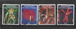 Cote D Ivoire 1978 N 462a /462d Cv 120 Euros Used - Côte D'Ivoire (1960-...)