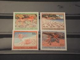 CHTISTMAS - 1984 GRANCHI 4 VALORI - NUOVI(++) - Christmas Island