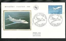 PREMIER JOUR DU 1 JUIN 1985- 1 ENVELOPPE  MYSTERE FALCON - 1980-1989